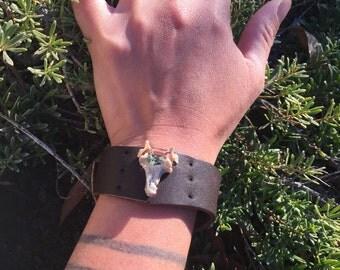 Leather Wrist-Band