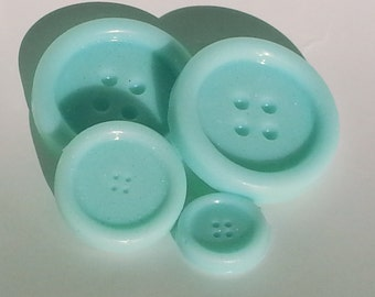 20 Button Soap Sets, Cute As A Button Soap Favors, Button Baby Shower, Quilting Favors, Button Birthday Favor, Sewing Gift, Wedding, Bridal