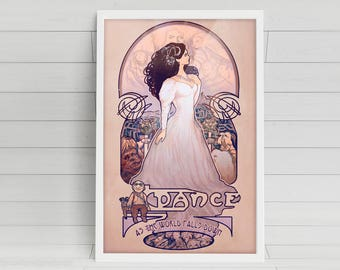As The World Falls Down - Sarah from The Labyrinth - signed 11x17 poster print
