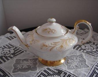 Vintage English Bone China Teapot Made by Paragon China