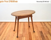 SALE antique table, antique side table, antique accent table, end table, lovely early 20th c. antique Conant Ball solid maple side table