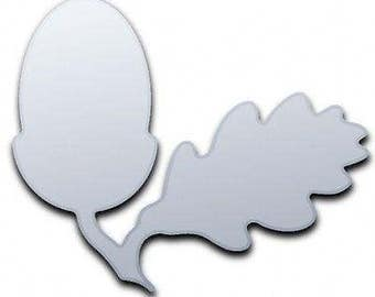 Acorn Shaped Mirror - 5 Sizes Available.