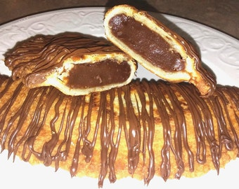 Chocolate Fried Pie 1/2 doz. Amish style/Baked goods/Party favors/Edible gift/Hand held pies