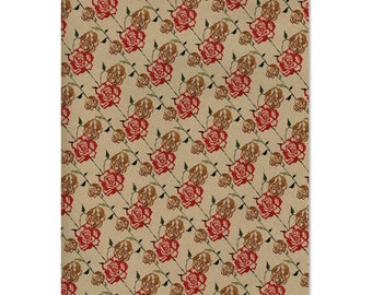 Vintage Roses Wrapping Paper | Made in Australia