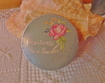 Debutante Face Powder - Vintage Makeup - RARE