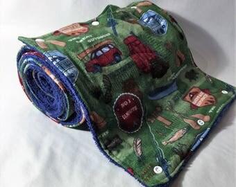 Unpaper Towels // Reusable Paper Towels // Cloth Paper Towels // Snapping Towels // Kitchen Towels// Camping Towels