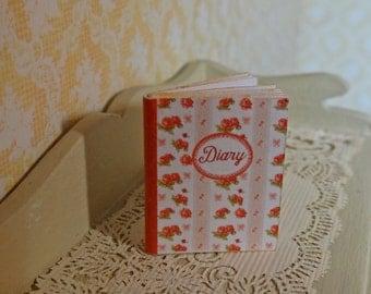 Shabby Diary Miniature Book 1:12