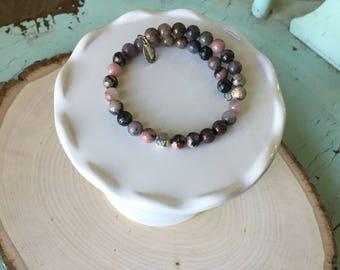 Amethyst Bracelet Wrap
