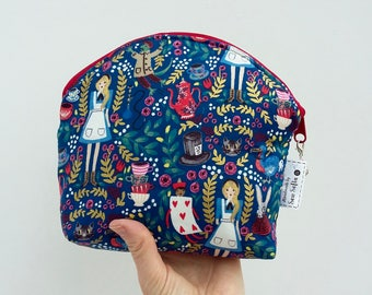 Alice in Wonderland Cosmetic Bag