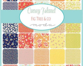Coney Island Fat Quarter Bundle by Fig Tree Quilts for Moda Fabrics