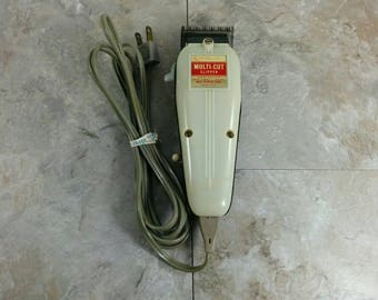 Reserved -- Vintage Barbershop Wahl Multi-cut Trimmer - Retro Shaving - Electric Trimmer