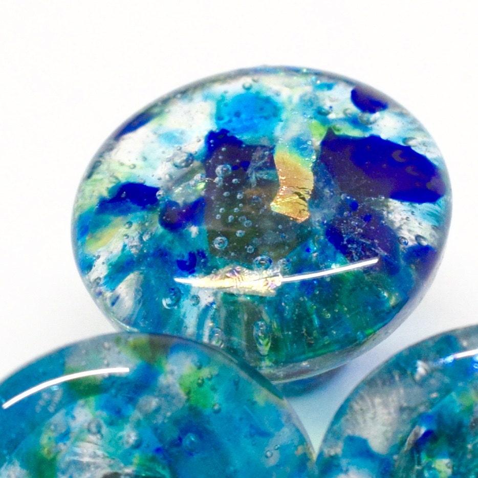 Lovely Cobalt Blue Glass Cabinet Knobs