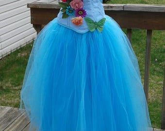 Mermaid Fairy Blend Costume/Prom Gown Size 6