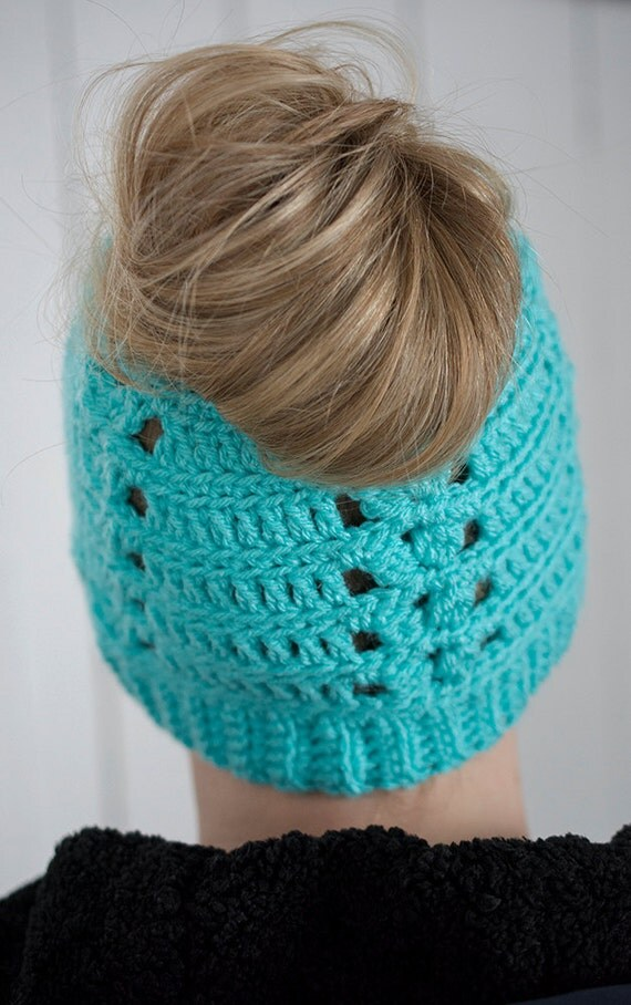 Crochet Patterns Messy Bun Beanie : messy bun hat crochet messy bun beanie messy bun - the messy betsy bun ...