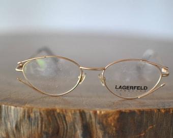 Vintage LAGERFELD DESIGNER women's glasses.........