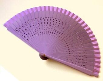 Hand Fans, hand fan, Abanico, fan in purpel