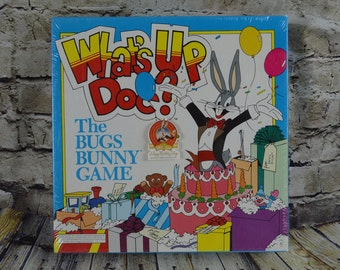 What's Up Doc? The Bugs Bunny Game Looney Tunes Vintage 1989