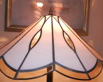 Vintage Brass Tiffany Style Lamp Shade