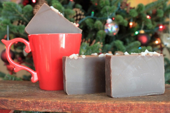 Hot Chocolate Soap~handmade soap,
