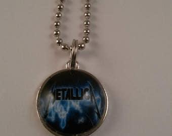 Metallica Music Handmade Charm Necklace 18MM