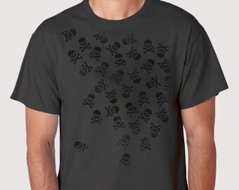 Noctis Skulls and Crossbones - T-shirt