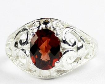 Mozambique Garnet, Sterling Silver Ring, SR111