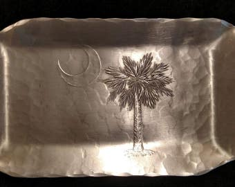 Bread Tray Palmetto and Crescent