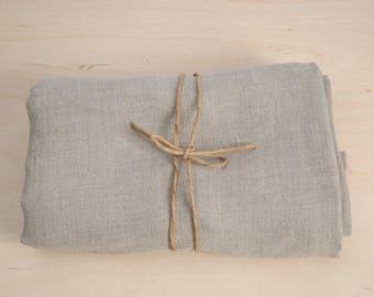 Soft linen bath towel 100% pure linen fabric bath sheet Not coloured Natural grey linen bath towel Stonewashed Linen towel Spa/Beach towel