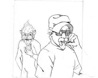 "Original Artwork - ""New Comic Day"" issue #315, Panel #3"