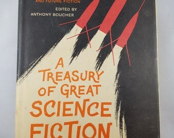A Treasury Of Great Science Fiction - Vintage Science Fiction book, Volume 2 from 1959