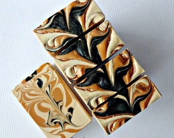 Dragons Rum Beer Soap with Dragonstooth stout, colloidal oatmeal and tussah silk