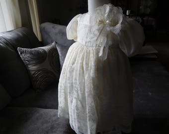 1015 Ivory Lace Blessing Dress