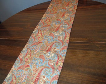 Paisley Table Runner, 71 inches table runner