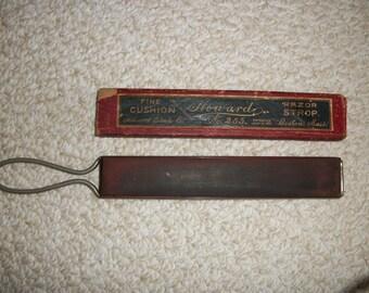 Vintage Howard Razor Strop No. 255 (#0424)