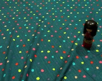 BTY Nani Iro Colorful Pocho Double Gauze Fabric!