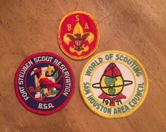 Boy Scout Pstches/vintage Boy Scout