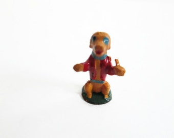 Poor Dog Marx Toys Fairykin, Old Mother Hubbard Nursery Rhyme Character, Vintage Miniature Toy