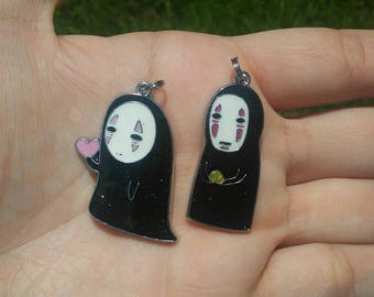 No face pendant necklace. 2 different ones to choose from.