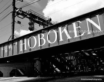 Hoboken Bridge, Original photograph