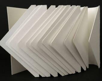 Handbound Watercolor Paper Envelope Journal