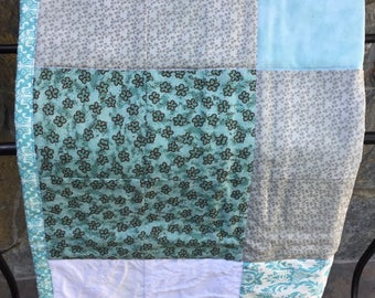 Baby Quilts,  Baby Blanket, 100% Cotton,Handmade, One of a kind Baby Quilts
