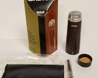 Free Shipping!! RCA Deluxe Battery Operated Mini Shaver NOS