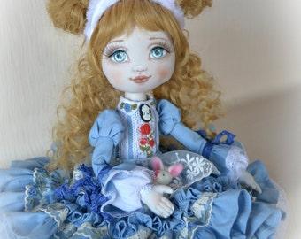 alice in wonderland alice in a rocking chair interior doll gift idea alice in wonderland inspired furniture