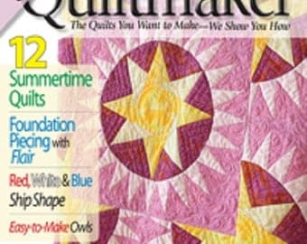 QUILTMAKER – JULY / AUGUST 2013