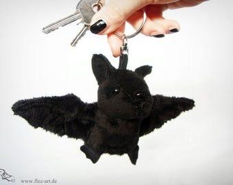 Bat keychain *Gomez black