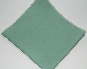 A Mint Green Pocket Square