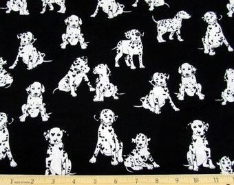 Puppy Love Fabric Dalmatians From Kanvas 100% Cotton