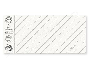 Notepads, memo pad, stationery, pads, bloc, to do list, list, writing pad, office supplies - Notepad-Set - Diagonal ruling with loop pattern