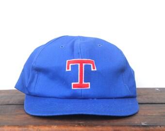 Vintage Texas Rangers Baseball MLB Old Logo Gatorade Trucker Hat Snapback Baseball Cap