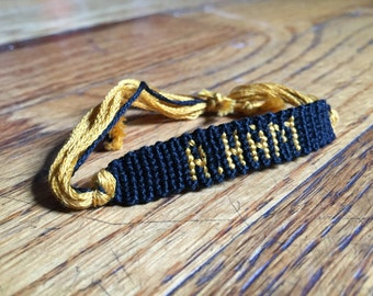 Hamilton the Musical Inspired A. Ham Bracelet
